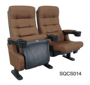 China Comfortable Brown Fabric Chairs For Cinemas Lecture Halls Auditorium wholesale