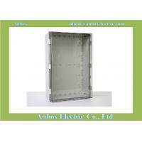 China 600x400x220mm ip66 PC clear waterproof hinged plastic box hinged box on sale