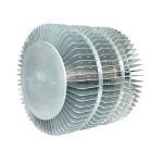 China Industrial Extruded Aluminum Heatsink For LED Fixture Round Extrusion Heatsink Profile wholesale