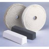 "China Where to Buy Buffing Wheels white cloth polishing wheel 8"" wholesale"