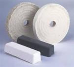 "China Where to Buy Buffing Wheels white cloth polishing wheel 8"" wholesale"