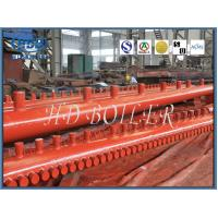 China Alloy Steel Boiler Manifold Header For Coal Fired Boiler Economizer And Water Wall Panel wholesale