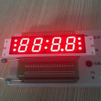 China Four Digit Seven Segment Custom LED Display 14.8 Mm For Radio / Sound wholesale