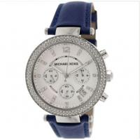 China Wholesale Michael Kors Watch MK2293 Parker Navy Leather Strap 39mm wholesale