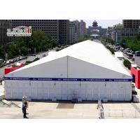 China White Aluminum Temporary Storage Structures Industrial Canopy Tent Wind Resistant wholesale