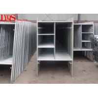 """China High Strength 3' × 6'4"""" A Frame Scaffold Structural Steel Tubing ISO / SGS Approved wholesale"""