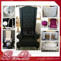 China wholesale luxury manicure spa pedicure chair sets for sale , modern used pedicure chair with bowl wholesale