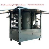 China Outside use vacuum Transformer oil purifier/ Dielectric oil filtration/ oil treatment/ purification on sale