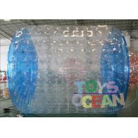 China Professional Transparent Inflatable Zorb Ball / Zorb Roller For 2 - 4 Player wholesale