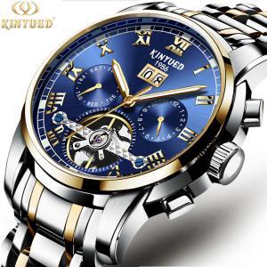 China Fashion Watch Men Waterproof Slim Mesh Strap Minimalist Wrist Watches For Men mechanical Watch Clock Relogio Masculino wholesale
