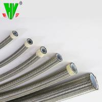China 1/2 inch available braided stainless steel high pressure high temperature flexible hose wholesale