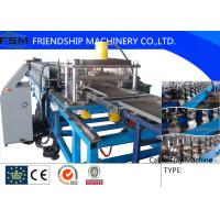 China Mitsubishi / Siemens PLC Cable Tray Roll Forming Machine With 25 m/min on sale