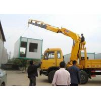 China Small Truck Mounted Crane Max Working Height 6.55 Meter , Construction Lifting Machinery wholesale