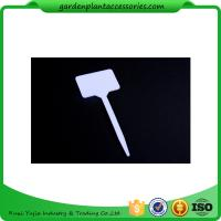 China White Durable PP Plant Markers / Garden Plant Labels For Garden 13.7*5.5cm Garden Plant Marker wholesale