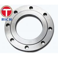 China Torich Stainless Forged Tube Machining Slip On Flange Ansi B16.5 Dn15 - Dn1200 wholesale