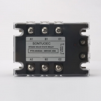 China AC To AC Single Phase Solid State Relay 40a 24-1200VAC on sale