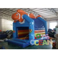 China Funny Inflatable Finding Nemo Air Kids Bounce House For Ocean Party Event wholesale