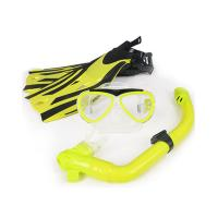 China Anti Fog Face Mask Snorkel Set For Swimming Diving Silicone Strap Material wholesale