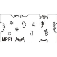 China MPF1 Nail Art Nail Airbrush stencil on sale