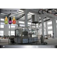 China PET Bottle Hot Production Juice Filling Machine Washer Filler Capper Stable Operated wholesale