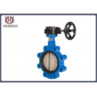 China Ductile Iron Wafer Butterfly Valve Epdm Seat SS304 Disc For Water System wholesale