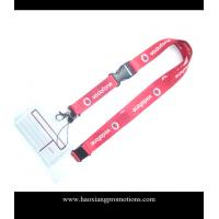 China Cheap Custom pink Lanyard print your logo No Minimum Order With Any Hook wholesale