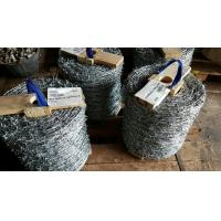 Wholesale 500M Galvanized Barbed Wire Roll Barbed Wire 2 Strands 4 Barbs Type from china suppliers