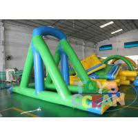 China 0.90mm PVC Inflatable Water Toys / Water Swing Game For Playground Parks wholesale