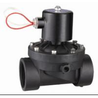 China Small Plastic Water Valves Normally Closed , 1 Inch Solenoid Valve DC24 / 12V wholesale