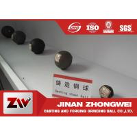 China Forged steel grinding media balls for power station , cement plant , mine wholesale