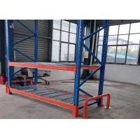 China Power Coated Wire Mesh Shelving Systems Boltless Warehouse Pallet Rack Durable wholesale