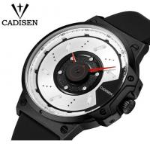 China Cadisen Creative Fashion Silicone Strap Waterproof 30m Remarkable Dial Quartz Wrist Watch 9059 wholesale
