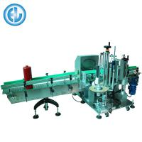 China Automatic Adhesive Sticker Labeling Machine For Big Bucket / Fire Extinguisher on sale
