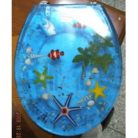 polyresin toilet seat cover,MDF toilet seat,PP toilet seat,sea star,shell transparent