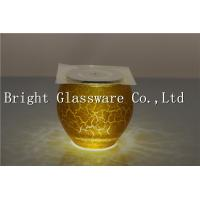 China Gold blown candle holder, decorative candle holder wholesale wholesale