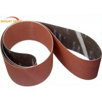 China Removing Paint Metal Sanding Belts Aluminum Oxide Abrasive P 24 - 2500 Grits wholesale