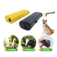 China Dog Repeller Ultrasonic Pet Trainer Anti Bark Stop Barking Handheld Control Traine wholesale