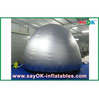 Buy cheap Silver Round  5m Inflatable Planetarium Dome With Projection Cloth Projection Tent from wholesalers