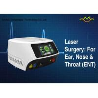 China Table Top GaAlAs Diode Laser Machine For Multipurpose Diode Technology For ENT Surgical wholesale