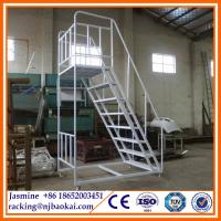 China New Style Top Sell Warehouse Steel Folding Step Ladders wholesale