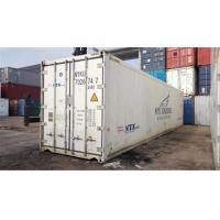 China Steel Used Reefer Container / Used Freezer Container For Shipping wholesale