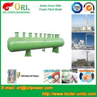 China Chain Grate Boiler Drum / Drum Boiler High Capacity with Energy Saving wholesale