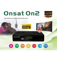 China 4M Flash HD Satellite Digital Receiver , Ethernet Satellite Receiver DVB-S2 ONSAT ON2 on sale