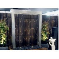 China Modern Design Stainless Steel Water Features For The Garden Custom Color wholesale