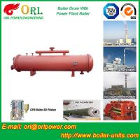 China Cement industry steam boiler mud drum TUV wholesale