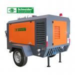 China 7.5 m³/min Portable Screw Air Compressor 2400 r/min For Road Construction wholesale