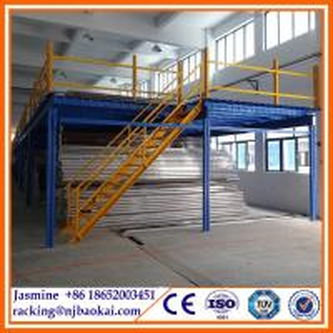China Warehouse Mezzanine Racking System Steel Platform wholesale
