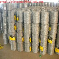 Buy cheap galvanized barbed wire length per roll/galvanized barbed wire for airport fence/barbed wire for fence price from wholesalers