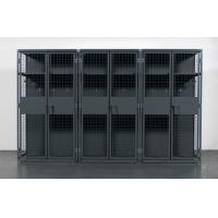 China Military , Gym Heavy Duty Storage Locker , Steel Ventilated Wire Mesh Partitions wholesale