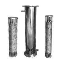 China 36mm 185 Bar Cooling Copper Finned Tube Condenser Microchannel wholesale